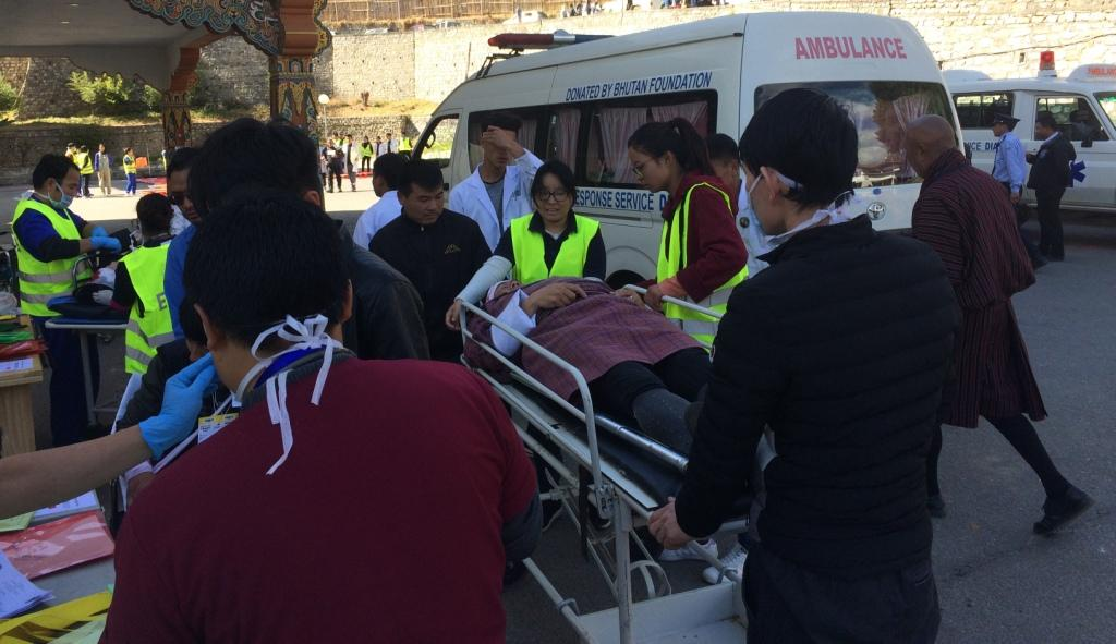 Thimphu Thromde Simulation Exercise on Earthquake – Ministry of Home